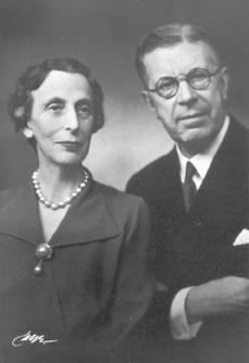 Kung Gustaf VI Adolf och Drottning Louise